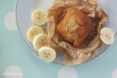 Banana Bread Bites